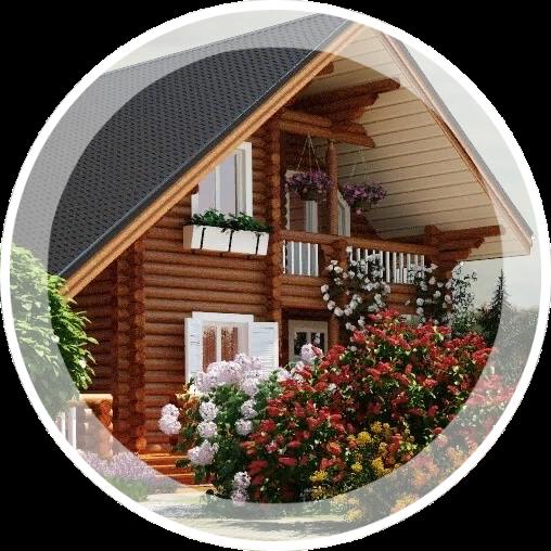 Частных домов, дач, садовых участков
